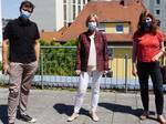 Joachim Friz, Irene Kolb-Specht und Dr. Anna Christmann