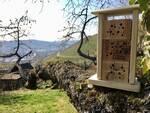 Bienen- und Insektenhotel im Garten